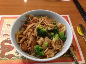 """Drunken Noodles with """"Chicken"""""""