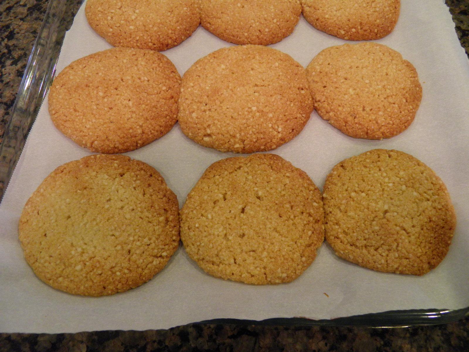 Ginger Shortbread Cookies – Gluten Free, Paleo | Vegetarian Wife's ...