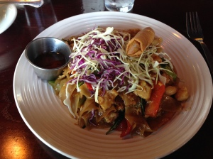 Pad Kee Mow with chicken