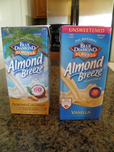 Almond Milk - one with Coconut Milk