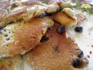 Blue Berry Pancakes