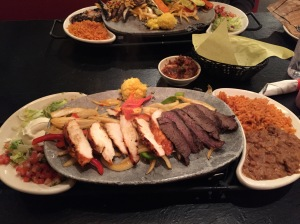 Chevy's Steak and Chicken Fajitas